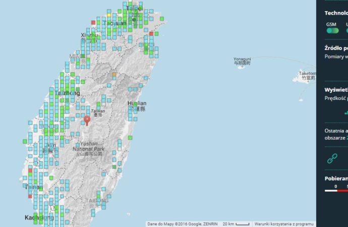 Interaktywna mapa zasięgu i prędkości RFBenchmark przyspiesza!