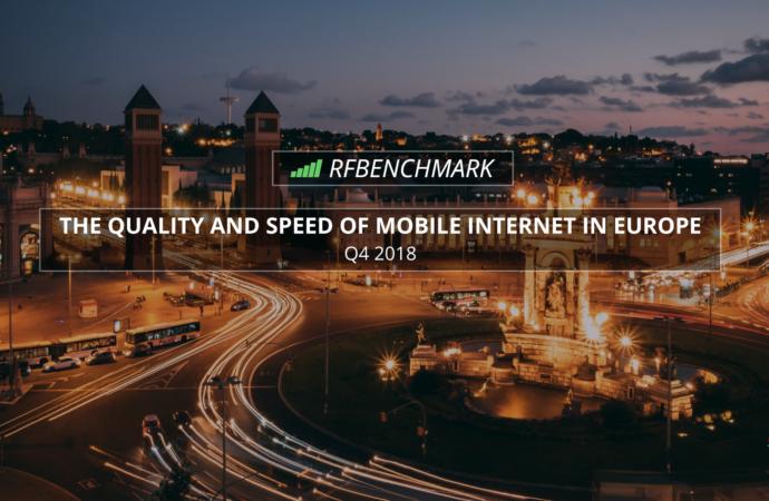 Jakość i szybkość Internetu mobilnego w Europie – raport RFBENCHMARK (Q4 2018)