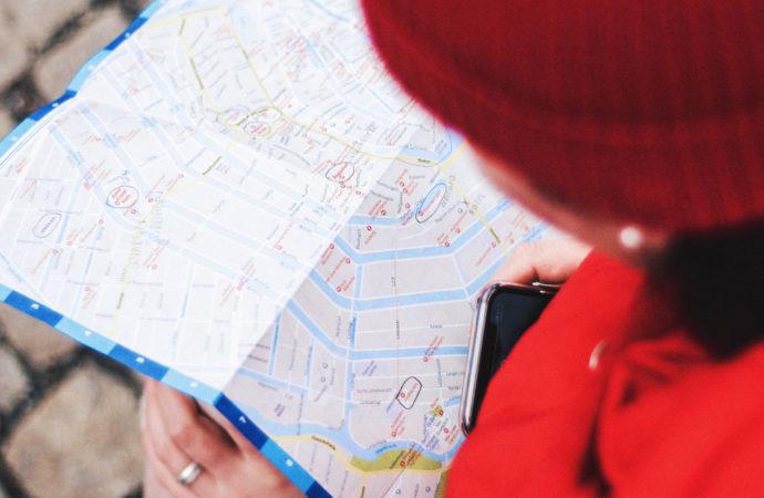 Rozszerzona rzeczywistość w Mapach Google