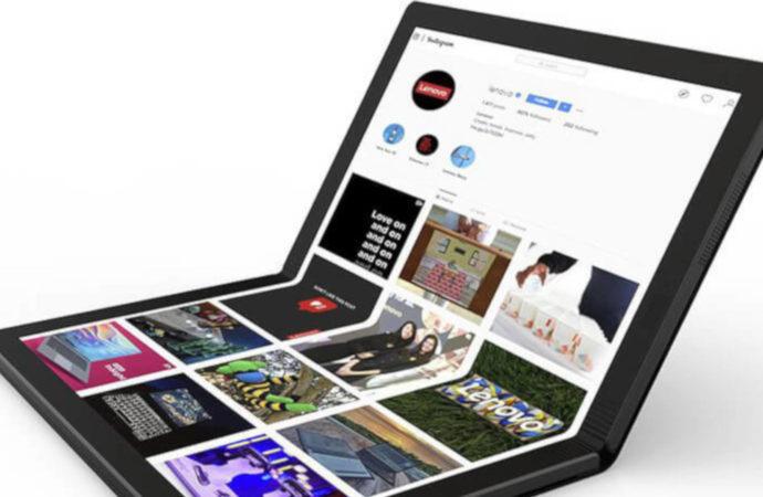 Lenovo prekursorem składanego laptopa