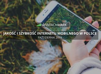 T-Mobile na czele, peleton tuż za nim – ranking RFBENCHMARK (październik 2019)