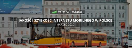 Wiosenny powiew świeżości? Zmiany w rankingu operatorów – ranking RFBENCHMARK (marzec 2020)
