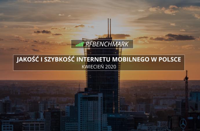 Orange odzyskuje prowadzenie – ranking RFBENCHMARK (kwiecień 2020)