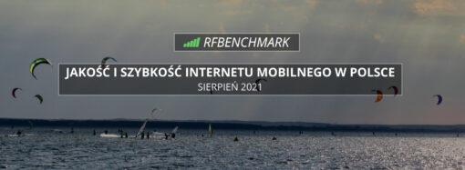 T-Mobile na topie, srebrne Orange – Internet mobilny w Polsce (sierpień 2021)